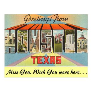 Saludos de Houston Postal