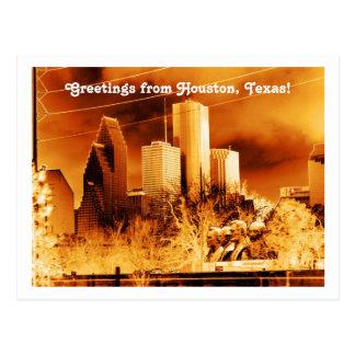 ¡Saludos de Houston, Tejas! Tarjetas Postales