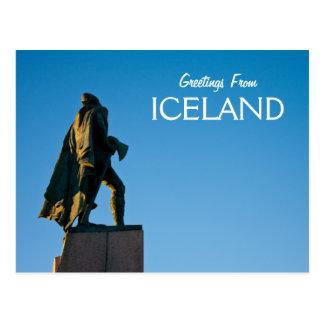 Saludos de Islandia Postales