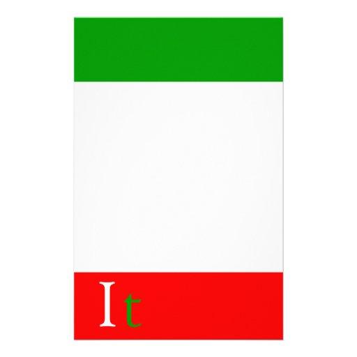 saludos de Italia Papelería