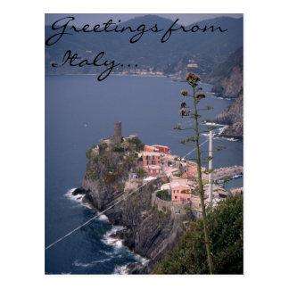 Saludos de Italia… Postales