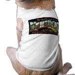 ¡Saludos de Kentucky! Camiseta De Mascota