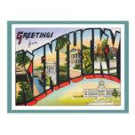 Saludos de Kentucky Postales