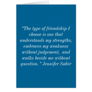 Saludos de la amistad tarjeta de felicitación