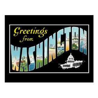 ¡Saludos de la C.C. de Washington!  Postal del vin