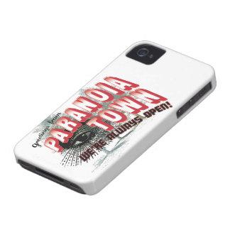 Saludos de la ciudad de la paranoia - ábrase iPhone 4 Case-Mate carcasa