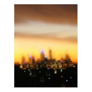 saludos de la ciudad grande tarjetas postales
