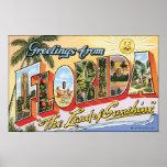 """Saludos de la Florida """"la tierra de la sol"""", Vin Impresiones"""