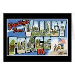 Saludos de la fragua del valle felicitación