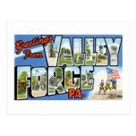 Saludos de la fragua del valle, PA Postal