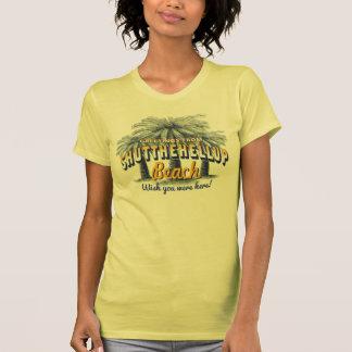 Saludos de la playa de ShutTheHellUp - cerrada T Shirts