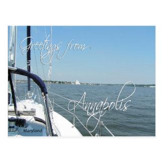 Saludos de la postal de Annapolis