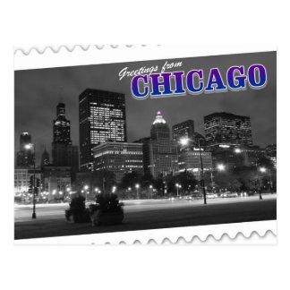 Saludos de la postal de Chicago Illinois