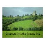 Saludos de la postal de Emerald Isle