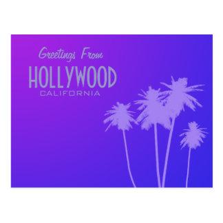 Saludos de la postal de Hollywood