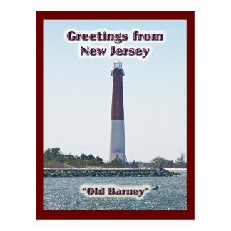 Saludos de la postal de New Jersey NJ