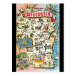 Saludos de la postal de Wisconsin