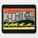 Saludos de la postal del vintage de Kentucky