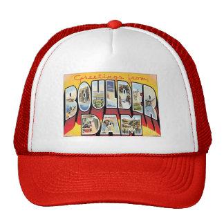 Saludos de la presa de Boulder Gorro