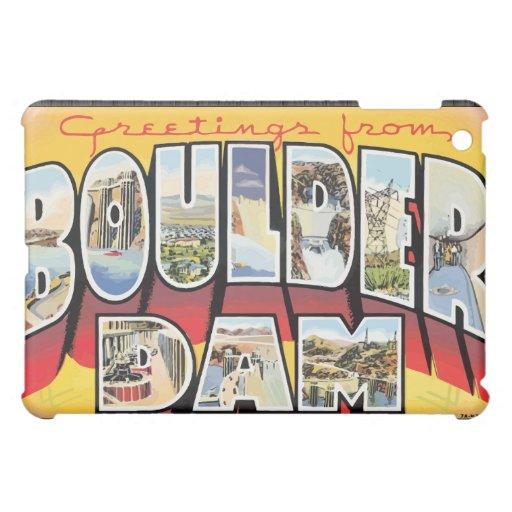 Saludos de la presa de Boulder, vintage