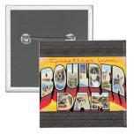 Saludos de la presa de Boulder, vintage Pin