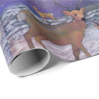 Saludos de las estaciones de las nevadas del reno