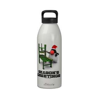 Saludos de las estaciones (duque Gutenberg de Open Botella De Agua Reutilizable