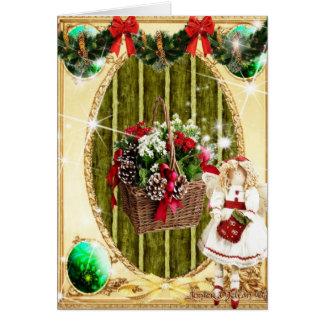 Saludos de las estaciones tarjeta de felicitación