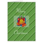 Saludos de las Felices Navidad Tarjetón