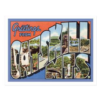 Saludos de las montañas de Catskill NY Tarjeta Postal