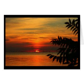 ¡Saludos de las orillas del Winnebago del lago! Tarjeta De Felicitación
