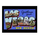 Saludos de Las Vegas New México Tarjeta Postal