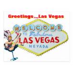 Saludos de Las Vegas Postal