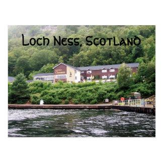 Saludos de Loch Ness Tarjetas Postales