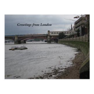 Saludos de Londres Tarjetas Postales