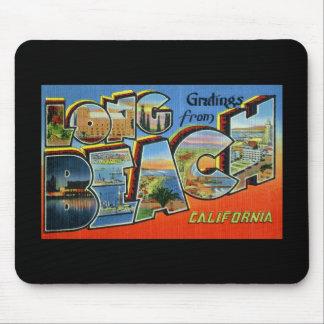 Saludos de Long Beach California Alfombrillas De Ratón