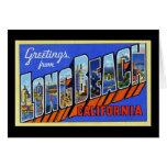Saludos de Long Beach California Felicitación