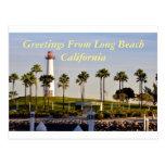 Saludos de Long Beach California Postal