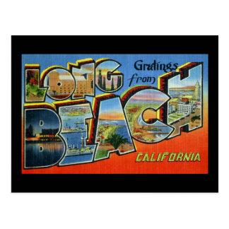 Saludos de Long Beach California Postales