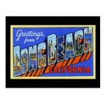 Saludos de Long Beach California Tarjetas Postales