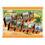 Saludos de Miami Beach Tarjetas Postales
