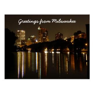 Saludos de Milwaukee Tarjetas Postales