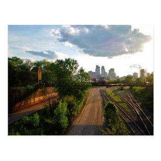 Saludos de Minneapolis, manganeso Tarjetas Postales