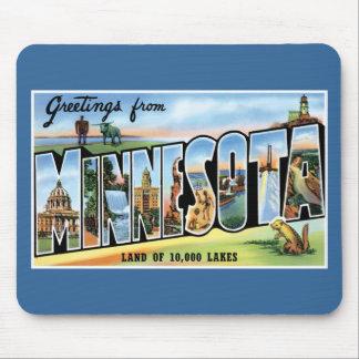 ¡Saludos de Minnesota! Mouse Pad