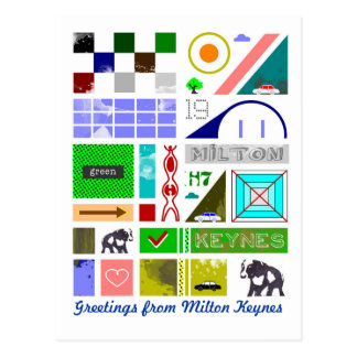 Saludos de MK - postal de Milton Keynes