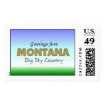 Saludos de Montana