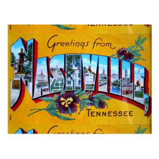 Saludos de Nashville Postal