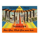 Saludos de Nashville Postales