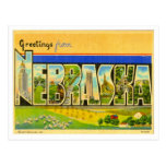 Saludos de Nebraska Postales