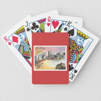 Saludos de New Jersey Baraja Cartas De Poker